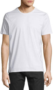 ATM Anthony Thomas Melillo Bib-Front Short-Sleeve T-Shirt, White