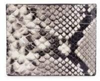 Maison Margiela Python Leather Card Case