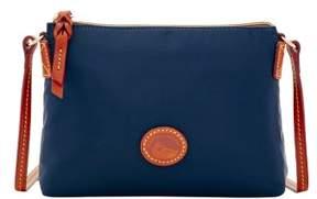 Dooney & Bourke Nylon Crossbody Pouchette Shoulder Bag - NAVY - STYLE