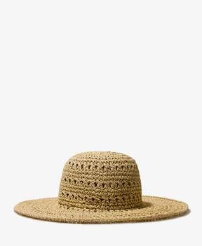 FOREVER 21 Open Weave Floppy Hat