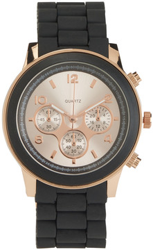 Aeropostale Black Rose Metallic Watch