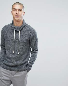 Jack and Jones Knitted Sweater with Funnel Neck