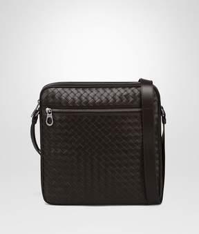 Bottega Veneta Espresso Intrecciato Messenger Bag