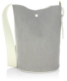 Derek Lam Grove Denim Bucket Bag