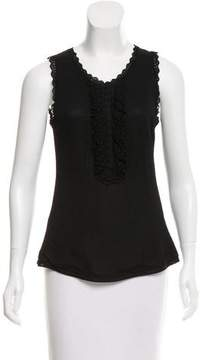 Andrew Gn Ruffle-Accented Sleeveless Top