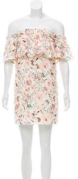 Camilla And Marc Off-The-Shoulder Mini Dress w/ Tags