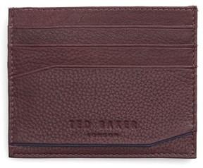 Ted Baker Men's Binxx Leather Card Case - Purple