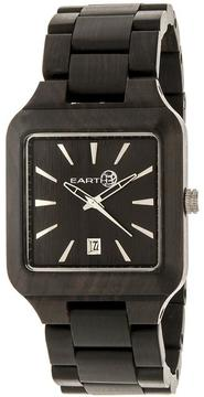Earth Arapaho Collection ETHEW3602 Unisex Wood Watch with Wood Bracelet-Style Band