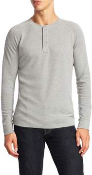 Life After Denim Men's Hybrid Solid Henley