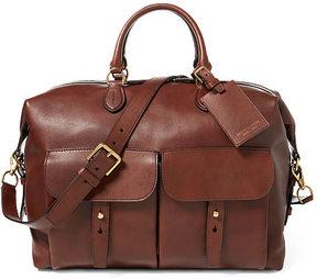 Ralph Lauren Calfskin Sahara Duffel Bag