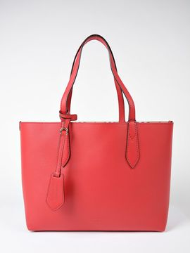 Burberry Medium Lavenby Tote - RED - STYLE