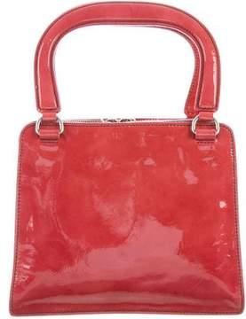 Miu Miu Spazzolato Top Handle Bag