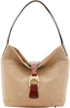 Dooney & Bourke Derby Suede Hobo
