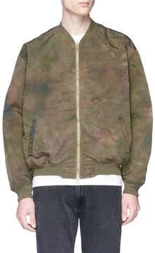 Remi Relief Tie-dye MA-1 bomber jacket