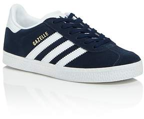 adidas Unisex Gazelle Suede Lace Up Sneakers - Toddler, Little Kid