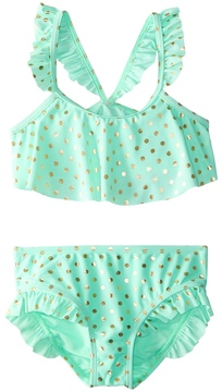 Hula Star Girls' Milkshake Bikini Set (2T6X) - 8154249