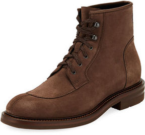 Aquatalia Raymond Suede Lace-Up Boot