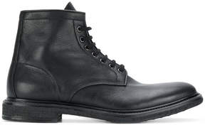 Premiata lace-up ankle boots
