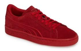 Puma Girl's Suede Classic Badge Jr. Sneaker