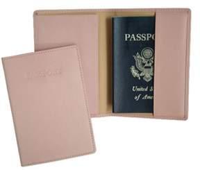 Royce Leather Unisex Full Grain Nappa Cowhide Passport Jacket.