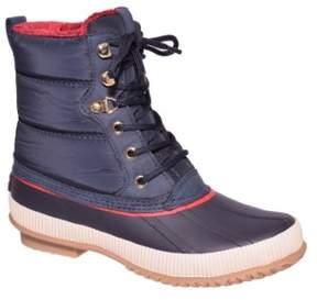 Tommy Hilfiger Elvia Women US 7 Blue Snow Boot