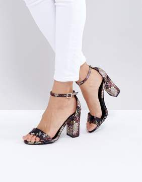 New Look Patterned Heeled Sandal
