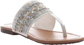 Madeline Blonde Thong Sandal (Women's)