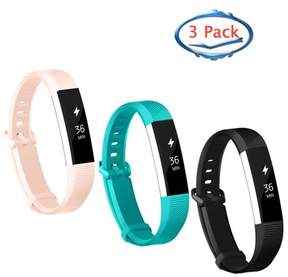 Fitbit Adepoy 3-Pack Replacement Sport Wrist Strap Bands for Alta Alta HR
