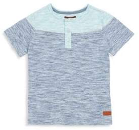 7 For All Mankind Little Boy's Colorblock Henley