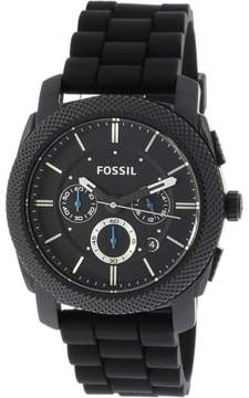 Fossil Men's FS4487 Machine Stainless Steel Watch, 45mm