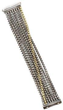 David Yurman Two-Tone Eight Row Bracelet