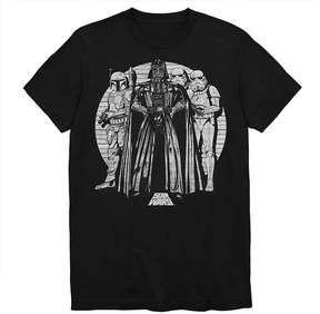 Star Wars Novelty T-Shirts Starting Lineup Graphic Tee