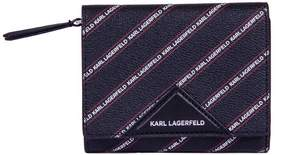 Karl Lagerfeld Medium K/stripe Logo Wallet