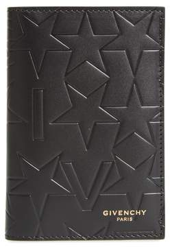 Men's Givenchy Tall Leather Billfold Wallet - Black