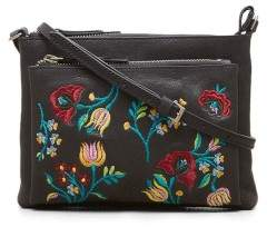 Kenneth Cole New York Brocade Crossbody Bag - Women's - Black