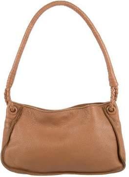 Bottega Veneta Intrecciato-Trimmed Handle Bag