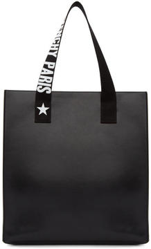 Givenchy Black Medium Logo Strap Stargate Tote