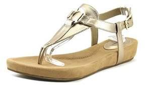 Giani Bernini Raisaa Women Open-toe Synthetic Bronze Slingback Sandal.