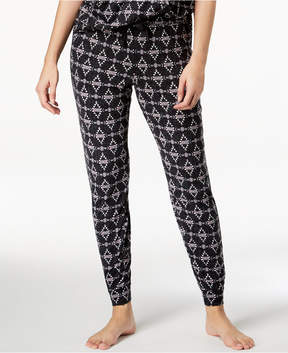 Lush Ande Luxe Printed Jogger Pajama Pants