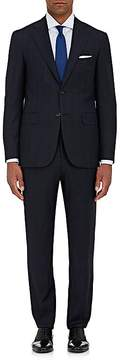 Canali Men's Capri Checked Nailhead Wool Two-Button Suit