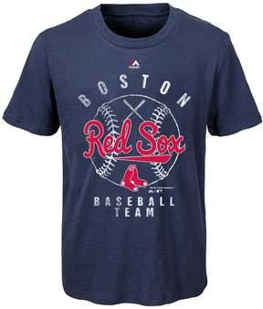 Majestic Boys 8-20 Boston Red Sox 1st Print Tee