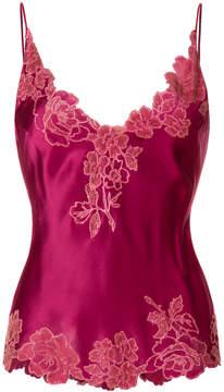 Carine Gilson V-neck lace camisole