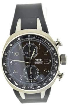 Oris TT3 Williams 7587 Titanium & Rubber Automatic 42.5mm Mens Watch