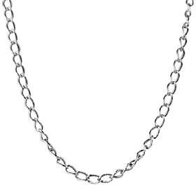 American West Sterling 18 Antiqued Cable Chain