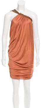 Doo.Ri Beaded One-Shoulder Dress