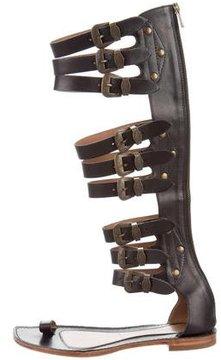 Sigerson Morrison Leather Gladiator Sandals