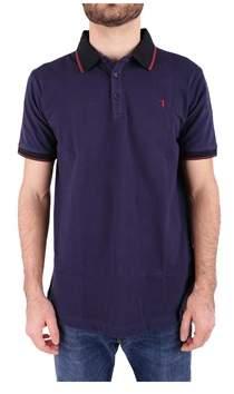 Trussardi Men's Blue Cotton Polo Shirt.
