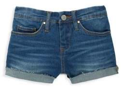 Blank NYC Girl's Buttoned Denim Shorts