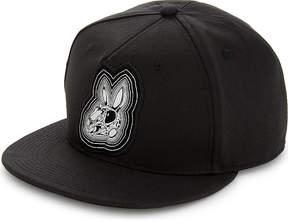 McQ Bunny cotton snapback cap