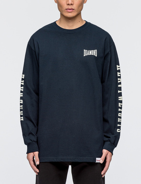 Diamond Supply Co. Cresendo L/S T-Shirt